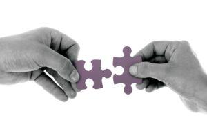 I vari ambiti lavorativi aiutano a ricostruire il puzzle.